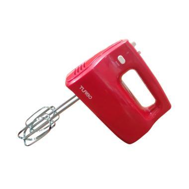 harga Turbo EHM9000 Hand Mixer - Merah Blibli.com