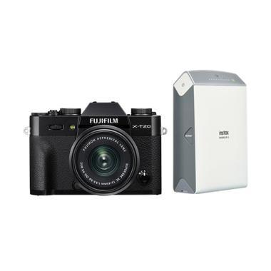 Fujifilm X-T20 Kit XC15-45mm f/3.5- ... k + Free Instax Share SP2