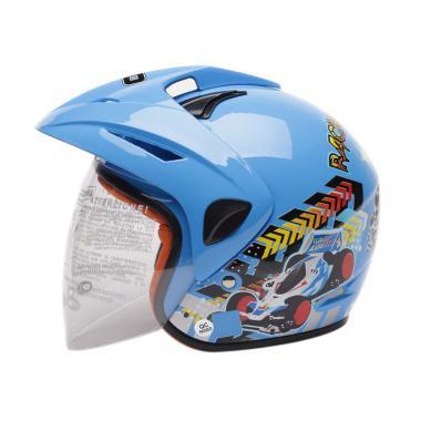 harga WTO Helmet Kids Pet Racing Wheel Helm Anak Blibli.com