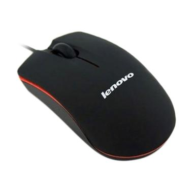 Lenovo M20 USB 2.0 Cable Wired Optical Mouse for Laptop or PC