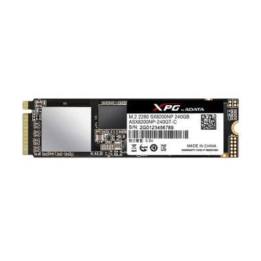 ADATA XPG SX8200NP PCIe Gen3x2 M.2  ... ive Internal SSD [240 GB]