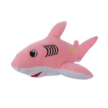 Dannherl Baby Shark Boneka - Pink [Size M]