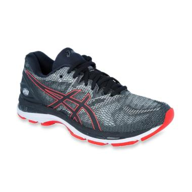 Asics Gel-Nimbus 20 Sepatu Lari Pria - Black 2f50e90755