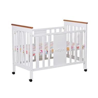 Hakari HK-073 Baby Bed Nia Tempat Tidur Anak - White
