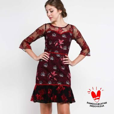 Jual Dress Brokat Model Terbaru - Harga Promo   Diskon  d725c4db83