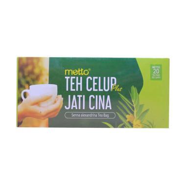 harga Metto Teh Celup Plus Jati Cina Blibli.com