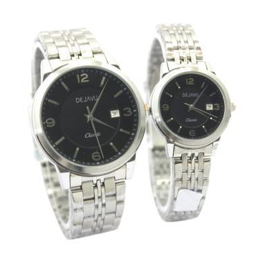 Dejavu DJ8162 Classic Analog Couple Watch [Original]