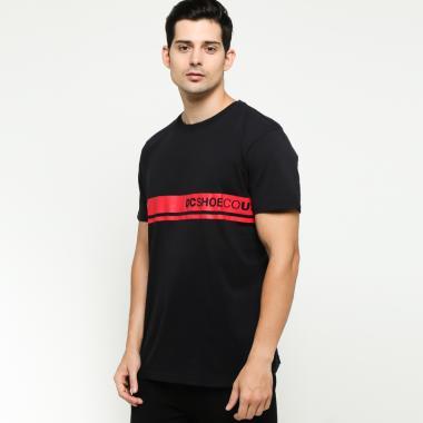 DC Whorped SS ID M Tees T-Shirt Pria - Anthracite Solid  KVJ0  9df5f4f571