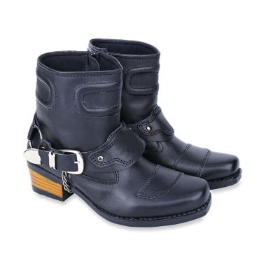Sepatu Boots Pria Zipper - Harga Terbaru Maret 2019  b80faa2090