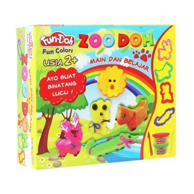 FS MBW - Fun Doh Zoo Series Mainan Edukasi Anak