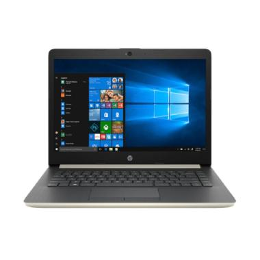 harga HP 14-cm0075AU Notebook - Gold [AMD R5-2500U/ 4GB/ 1TB+128GB/ 14 Inch/ Windows 10] Blibli.com