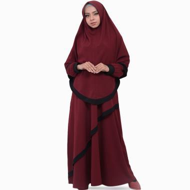 Jual Model Baju Gamis Terbaru 2019 Bahan Berkualitas Blibli Com. Model Baju  Lebaran Untuk Wanita Gemuk ffabdaacbe