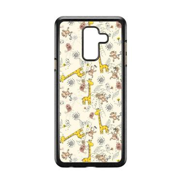 harga Acc Hp Giraffe And Monkey Background L0149a Custome Casing for Samsung Galaxy A6 Plus Blibli.com