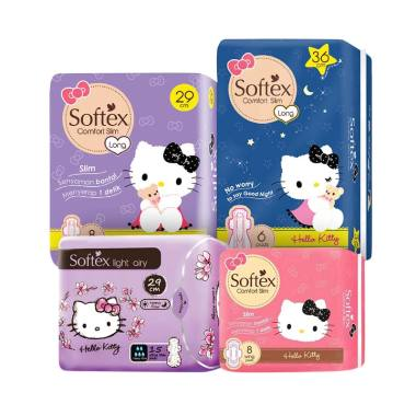 74 Gambar Softex Hello Kitty Paling Keren