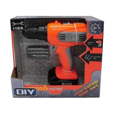 DIY Electric Drill with Light Mainan Anak