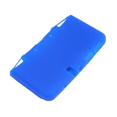 Bluelans Soft Silicone Protective Case Cover Skin for Nintendo 3DS XL/LL Game Console - Blue