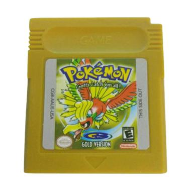 Bluelans Game Cards Cartridge for Nintendo Pokemon GBC Game Boy Color Version Console - Yellow