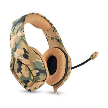 harga Bluelans 2# Onikuma Camouflage Headset Bass Headphones Game Earphone Mic for PS4 Blibli.com