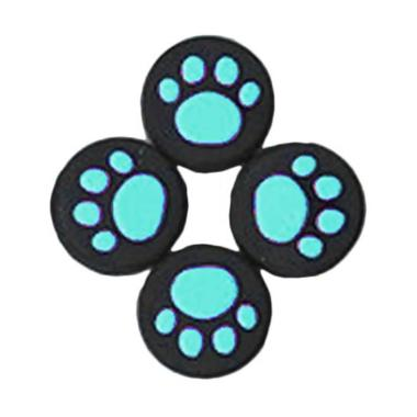 harga Bluelans Silicone Thumb Switch Cap Cat Paw Pattern Cover Protective Controller Grip - Blue [4 pcs] Blibli.com