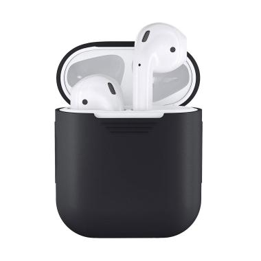 Bluelans Shockproof Soft Silicone Protector Case Cover Shield for Apple AirPods Earphones