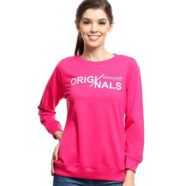 Ramayana Pink By Jj Originals 2109 Sweatshirt Wanita
