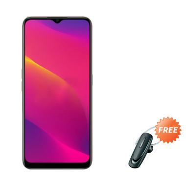 harga Oppo A5 2020 Smartphone [128 GB/ 4 GB] + Free Headset Bluetooth Blibli.com