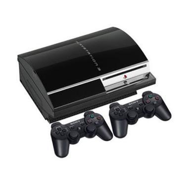 harga SONY Playstation 3 Fat CFW 4.84 Game Console [HDD 320GB] Free + 2 Stik Wireless + Full Game Blibli.com