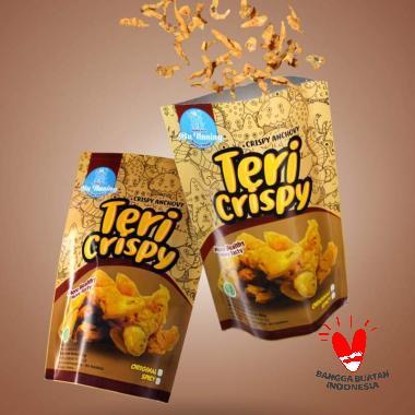 harga Bu Naning Spicy Keripik Teri Crispy [80 g] Blibli.com