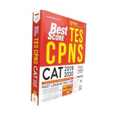 harga Genta Smart Publisher Buku Tes CPNS Best Score CPNS 2019-2020 by Tim Presiden Eduka Buku Referensi Blibli.com