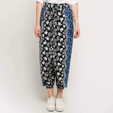 Batik Arjunaweda Women 06281079 Celana Rok Batik Wanita - Hitam