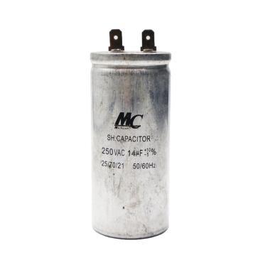 harga MC 14 uf Aluminium Kapasitor AC [250 V] Blibli.com