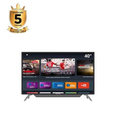 harga MOLA POLYTRON PLD 40AS1558 SMART TV [39 inch] Blibli.com