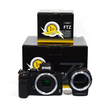 Nikon Z50 Kamera Mirrorless with FTZ Adapter Kit [Body Only]