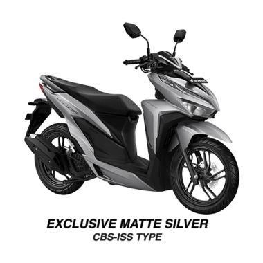 harga Honda New Vario 150 eSP CBS ISS Exclusive Sepeda Motor [VIN 2020/ OTR Palembang] No Matte Silver Palembang Blibli.com
