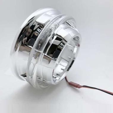 harga Aes Shroud AR Crystal Ring Aksesoris Motor [3 Inch] CHROME Blibli.com