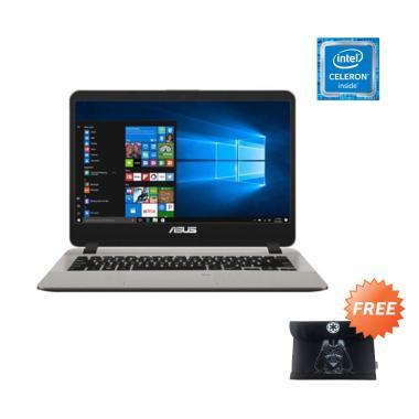 Asus VivoBook A407MA-BV002T Fingerprint Notebook - Gold [N4000/ 1TB/4GB DDR4/ Win10/ 14