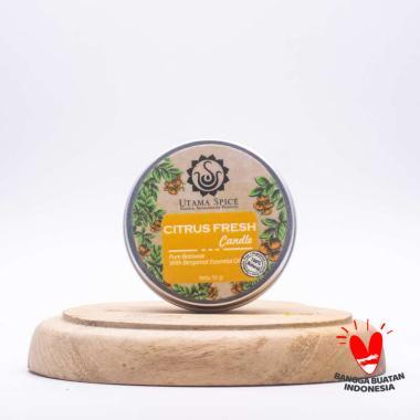 harga Utama Spice Citrus Fresh Candle 50gr Blibli.com