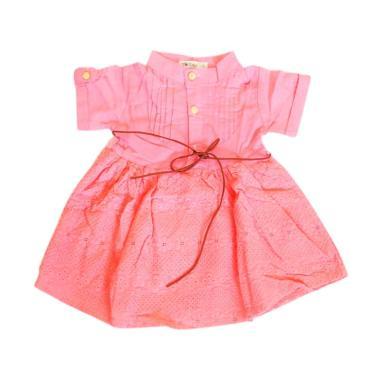 harga Dotblu Mini Brukat Salmon Dress Anak Perempuan Blibli.com