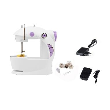 Mini Sewing Machine 4in1 GT-202 Mesin Jahit Portable