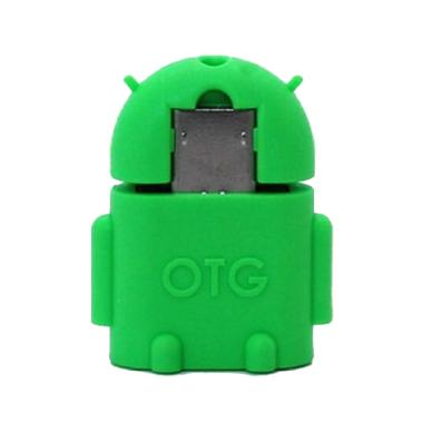 OEM Android Robot Micro USB OTG - Green
