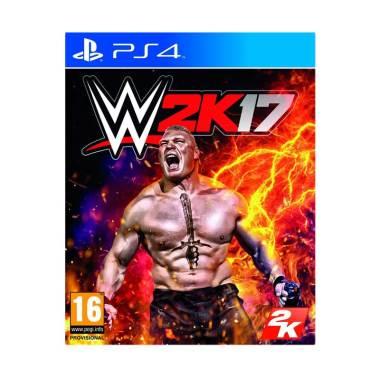 Sony PlayStation 4 WWE 2K17 DVD Game