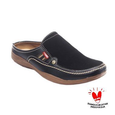 Salvo SL-02 Sepatu Sandal Pria - Hitam