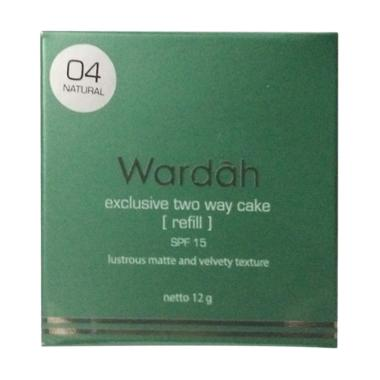 Refill Wardah Two Way Cake - Natural