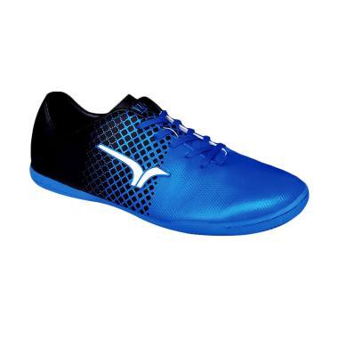 Calci Anarchy Sepatu Futsal - Black Blue
