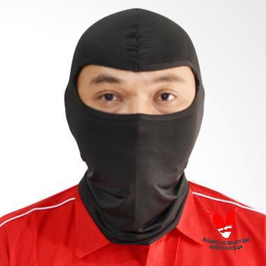 Roduta Ninja Masker Motor - Hitam