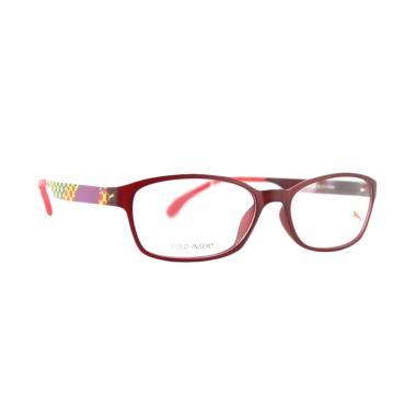 PUMA Frame Kacamata - Merah Colourfull