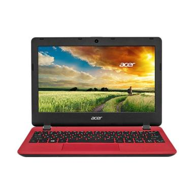 Acer Aspire ES1-132 Notebook - Red [11 Inch/N3350/2GB/500GB/Win10]