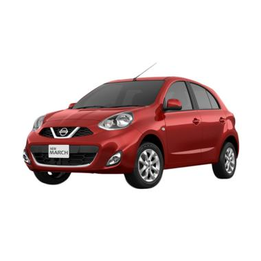 Nissan March 1.2 Mid Mobil - Red Metallic