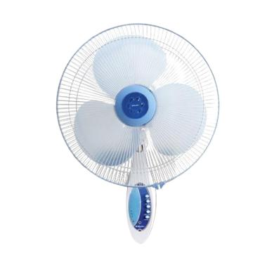 Miyako KAW-1689 Wall Fan RC Kipas Angin