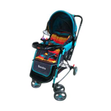 Babydoes Bandre CH282 Stroller - Biru
